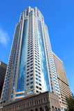 Immeubles avec le ciel Photos libres de droits