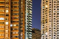 Immeubles ayant beaucoup d'étages à Changhaï Photographie stock libre de droits