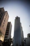 Immeubles ayant beaucoup d'étages à Los Angeles Photographie stock libre de droits