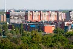 Immeubles colorés Photo libre de droits