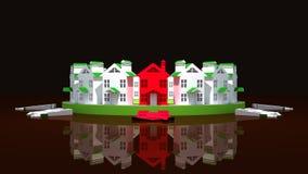 Immeubles d'amorce illustration libre de droits
