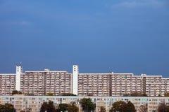 Immeubles d'immeuble et à Wroclaw Images libres de droits