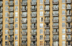 Immeubles dans le joungle concret Photo stock