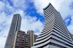 Immeubles de bureaux à Bogota Photographie stock libre de droits