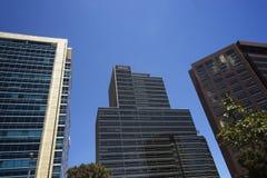 Immeubles de bureaux à Bogota, Colombie Images libres de droits