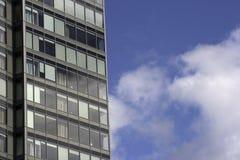 Immeubles de bureaux élevés Image libre de droits