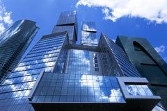Immeubles de bureaux. Image libre de droits