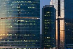 Immeubles de bureaux Images libres de droits