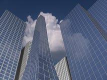 Immeubles de bureaux illustration stock