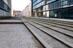 Immeubles de bureaux abstraits Photos libres de droits
