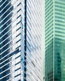 Immeubles de bureaux contemporains Photo stock