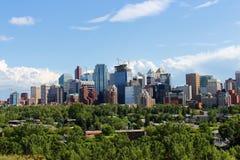 Immeubles de bureaux de Calgary Photographie stock