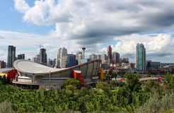 Immeubles de bureaux de Calgary Image stock