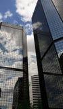 Immeubles de bureaux de Denver Images libres de droits