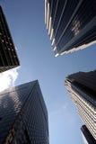 Immeubles de bureaux de Manhattan photo libre de droits