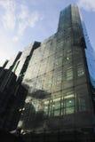 Immeubles de bureaux de ville Image libre de droits