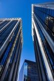 Immeubles de bureaux du centre Images stock