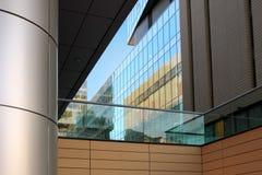 Immeubles de bureaux en gros plan Images libres de droits