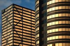 Immeubles de bureaux modernes Photo stock