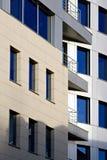 Immeubles de bureaux modernes Images libres de droits