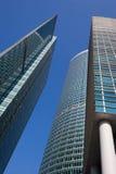 Immeubles de bureaux modernes Photos libres de droits