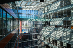 Immeubles de bureaux modernes Image libre de droits