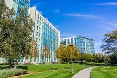 Immeubles de bureaux modernes dans Silicon Valley photographie stock