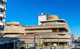 Immeubles de bureaux 1970s-1980s dans le secteur de Meriadeck du Bordeaux, France images stock