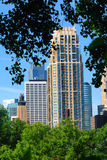 Immeubles de bureaux urbains Images libres de droits