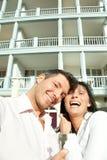 Immeubles de couples Photos stock
