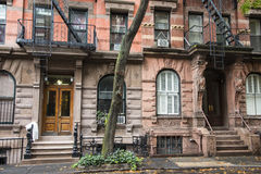 Immeubles de Greenwich Village, New York City photographie stock libre de droits