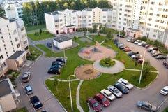 Immeubles de Moscou Photographie stock libre de droits