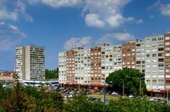 Immeubles modernes, Budapest, Hongrie Photo libre de droits