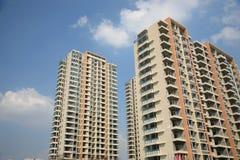 Immeubles neufs Photos libres de droits