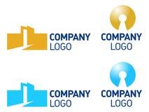 Immeubles, réalisateurs, logo d'architecture