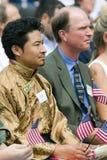 Immigrante tibetano Fotografia Stock