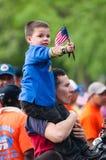 Immigranten Families op Maart