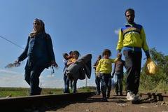 immigrants imagem de stock
