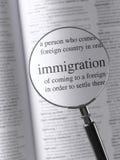 immigratie Royalty-vrije Stock Fotografie