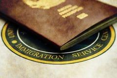 immigration imagem de stock royalty free
