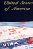 Immigration admitted Royalty Free Stock Photos