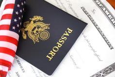Citizenship documents Stock Image