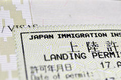 Immigration control royalty free stock images