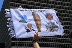 Immigration march 6-30-2018 Royalty Free Stock Photo