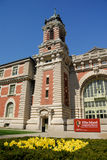 The immigration museum on Ellis Island Royalty Free Stock Images