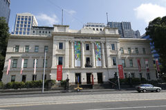 The Immigration Museum located on Flinders Street in Melbourne, Victoria, in the Old Customs House Stock Photos