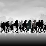 Immigration people Stock Photography