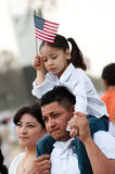 Immigration Rally in Washington Royalty Free Stock Photos