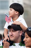 Immigration Rally in Washington Royalty Free Stock Photo