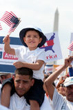 Immigration Rally in Washington Royalty Free Stock Image